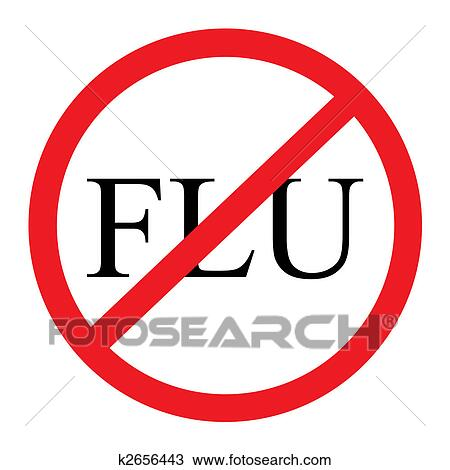 drawing of no flu graphic k2656443 search clipart illustration rh fotosearch com flu shot clinic clipart flu shot clip art free