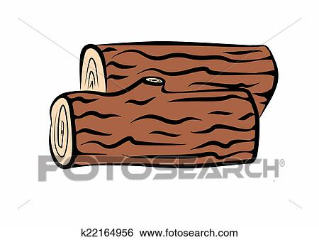 Wood logs Stock Illustrations. 1,828 wood logs clip art images and ...