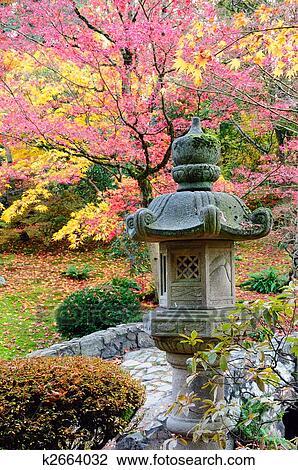 Banque de photo jardin japonais k2664032 recherchez for Laghetto giapponese
