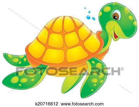 Clipart tortue k20716612 recherchez des cliparts des illustrations des dessins et des - Clipart tortue ...