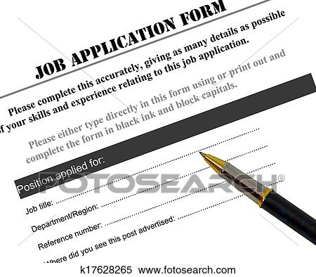 Completing A Job Application Acurnamedia