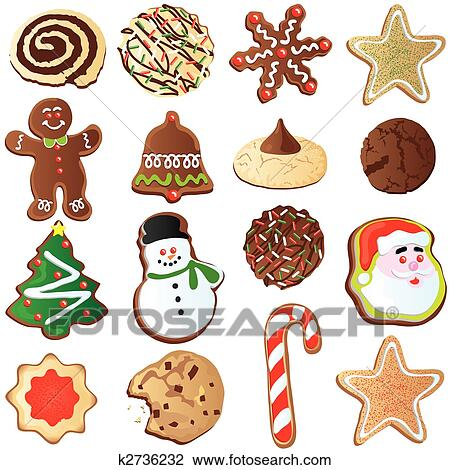 Cute Cookies Drawing Cute Christmas Cookies