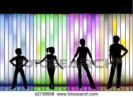 Fashion Show Drawings Clip Art Family Fashion Show