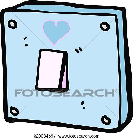 light switch clipart. clip art cartoon turn me on light switch fotosearch search clipart illustration