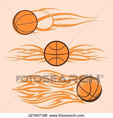 clip art of tribal basketballs k27647188 search clipart rh fotosearch com images of basketballs clipart clipart basketball