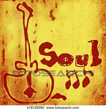 soul clip clipart word concept drawings vector fotosearch texture backgrounds