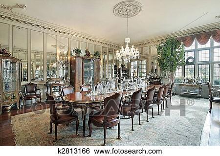 餐厅带茶镜的效果图