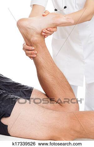 Come trattare rimedi di gente di fungo di gamba