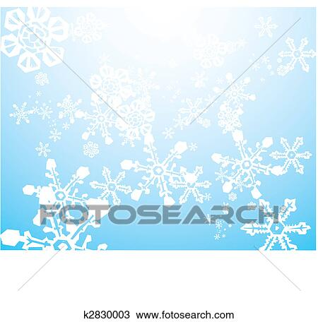Clipart of Snow Storm Background k2830003 - Search Clip Art ...