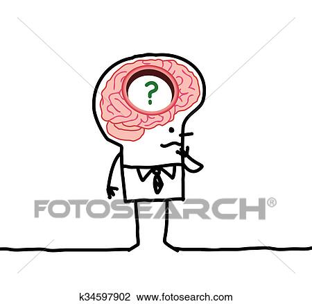Clip art of big brain man memory desorders k34597902 search clip art big brain man memory desorders fotosearch search clipart illustration thecheapjerseys Choice Image