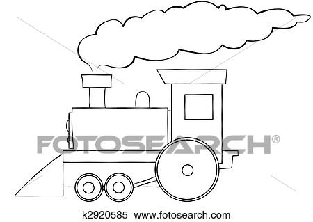 clip art train smoke clipart