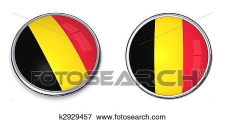 Banque d 39 illustrations banni re bouton belgique - Bouton de liege ...