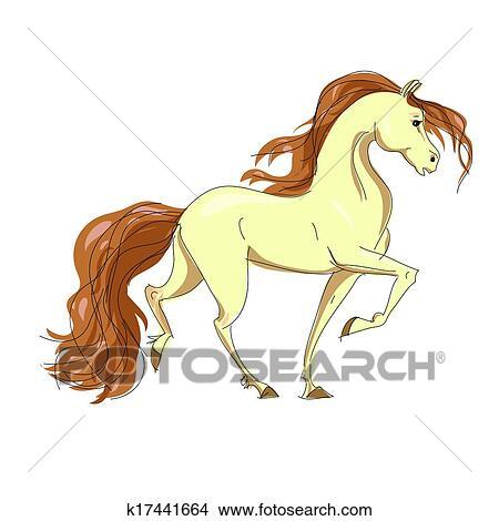 Disegni stilizzato disegno di uno cavallo con uno for Disegno cavallo stilizzato