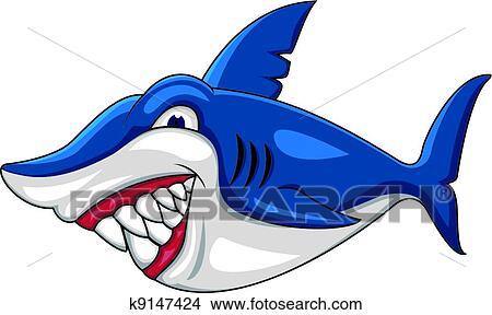 绘画/图画 - 愤怒, 鲨鱼, 卡通漫画 k9147424 - 搜寻图片