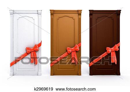 Archivio illustrazioni porta con arco rosso casa - Arco interno casa ...