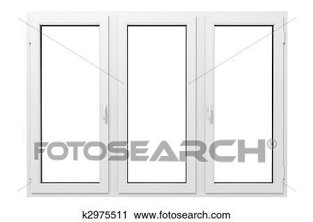 Fenster clipart schwarz weiß  Clipart - plastik, fenster k2975511 - Suche Clip Art, Illustration ...