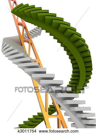 手绘图 - 楼梯