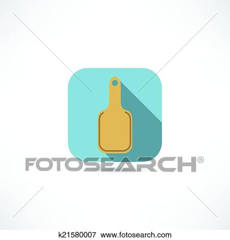 Schneidebrett clipart  Clip Art - schneidebrett, symbol k21580007 - Suche Clipart, Poster ...
