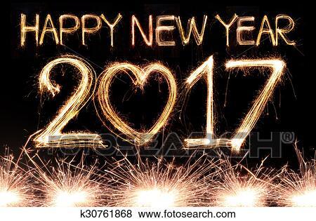 Bild – Frohes Neues Jahr, 2017