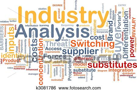 Stock Illustration Of Industry Analysis Background Concept