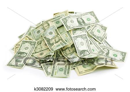 stock photograph of money pile k3082209 search stock photography rh fotosearch com big pile of money clipart pile of money clipart free