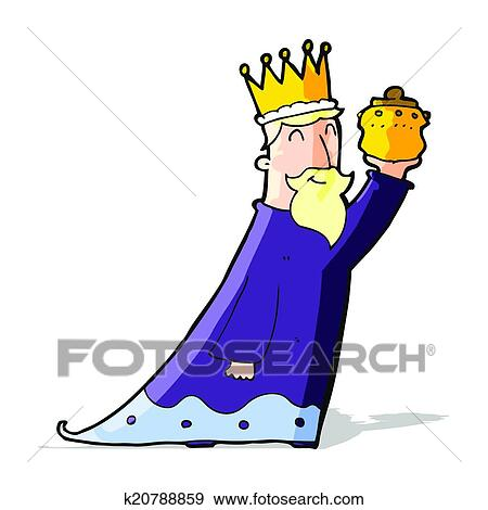 Clip Art - one of the three wise men. Fotosearch - Search Clipart ...