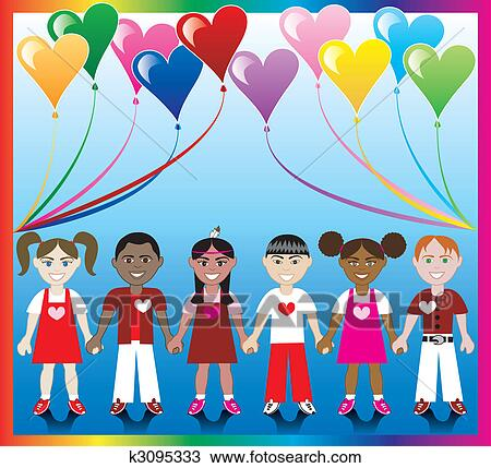 Clipart cuore balloon bambini 1 k3095333 cerca for Clipart cuore