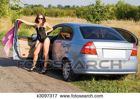 отсос в машине фото