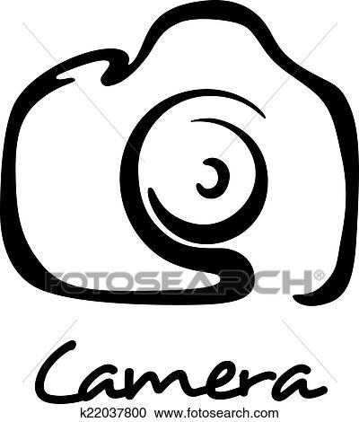 剪贴画 - 数字照相机, 图标