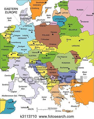 クリップアート(切り張り)イラスト「絵画」集 - 東ヨーロッパ, ∥で∥... 東ヨーロッパ,
