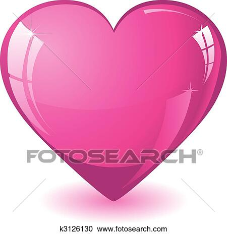clipart of glitter pink heart k3126130 search clip art rh fotosearch com glitter clipart border glitter clipart png