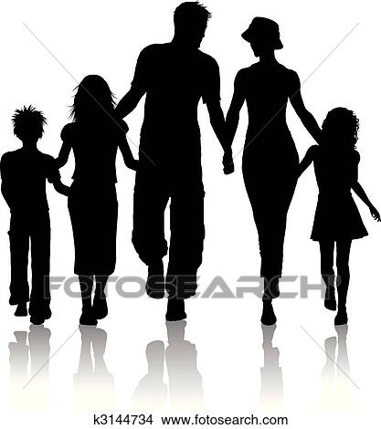 Family Clipart EPS Images. 104,037 family clip art vector ...
