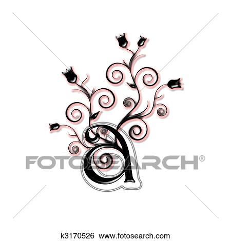 Arkiv Illustrasjon - med sm? bokstaver, brev k3170526 - S?k utklipp ...