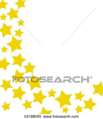 stock illustration of winning gold star border k3188045 search rh fotosearch com Gold Stars Background Clip Art Gold Stars Clip Art Frame