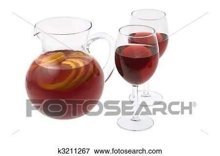 image vin rouge sangria k3211267 recherchez des photos des images des photographies et. Black Bedroom Furniture Sets. Home Design Ideas
