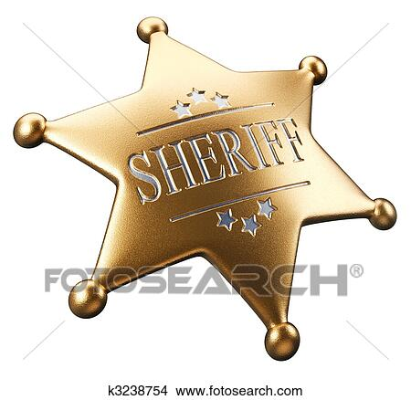 Sheriff badge Clipart and Stock Illustrations. 457 sheriff badge ...