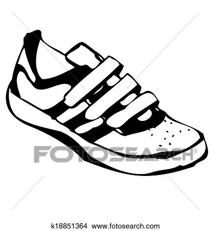 Caricatura  zapatillas...