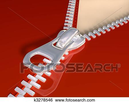 Stock Illustration of Zipper k3278546 - Search Clip Art ...
