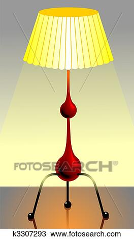 Drawing of table lamp k3307293 search clipart illustration drawing table lamp fotosearch search clipart illustration fine art prints mozeypictures Image collections