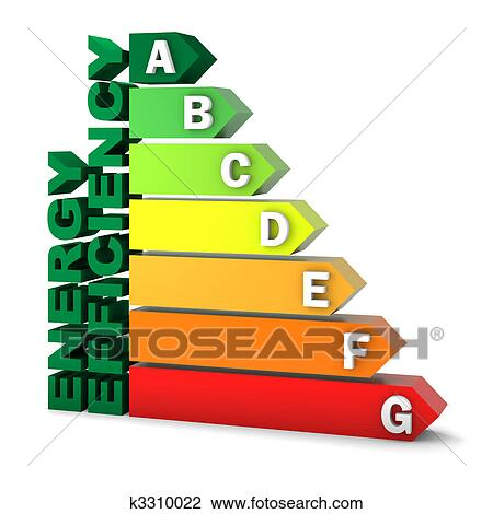 clip art of energy efficiency rating chart k3310022 search clipart rh fotosearch com energy clipart animations energy clipart black and white