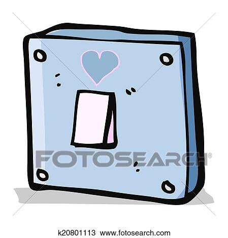 Clipart of cartoon turn me on light switch k20801113 search clip clipart cartoon turn me on light switch fotosearch search clip art illustration sciox Gallery
