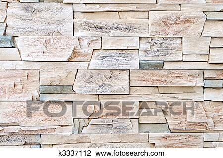 Stock Photo   brick stone exterior and interior decoration building material  for wall finishing  FotosearchStock Photo of brick stone exterior and interior decoration  . Exterior Wall Finishing Materials. Home Design Ideas