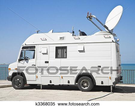 Image result for tv truck clipart
