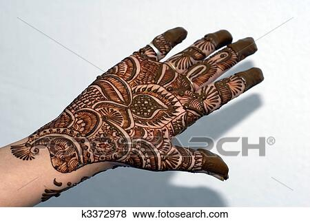 Mehndi Tattoo Hands : Pictures of henna tattoo on hands k search stock photos