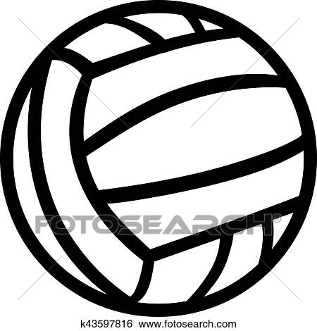 clip art of water polo ball k43597816 search clipart illustration rh fotosearch com Water Polo Cartoon Art water polo player clipart