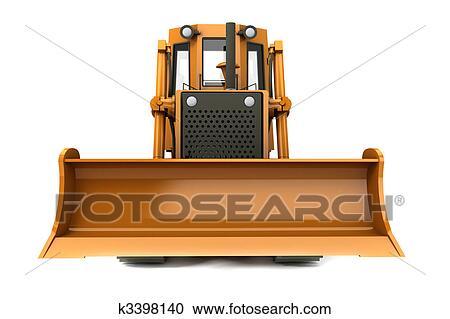 Stock Illustrations of Bulldozer k3398140 - Search Clipart ...