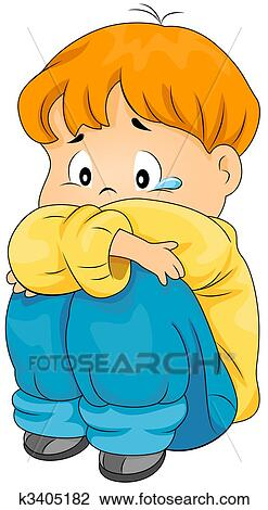 clip art of lonely boy k3405182 search clipart illustration rh fotosearch com search clipart word search clip art microsoft office