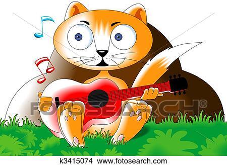 手绘图 - cartooncat图片
