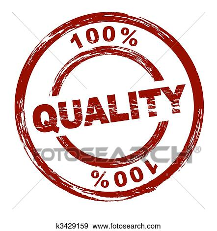 Stock Illustration of 100% Quality k3429159 - Search Vector ...