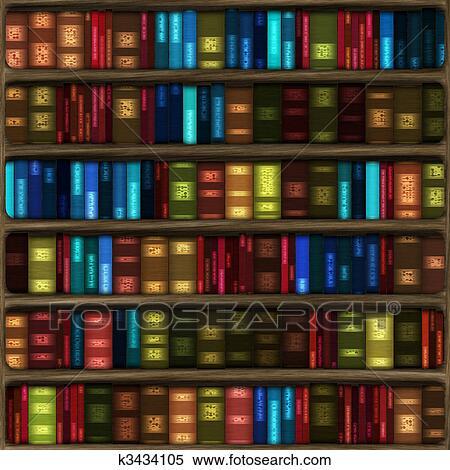 Bücherregal clipart  Bücherregal Stock Illustration. 5.387 bücherregal Clip Art Bilder ...